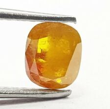 1.02 Carat Natural Diamond Cushion Orange Rustic Rose Cut Natural Loose Diamond