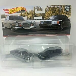 HOT WHEELS 2021MERCEDES-BENZ 280 SEL AND 190E 2.5 TARGET EXCLUSIVE 2 PACK SG560