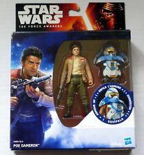 "Star Wars The Force despierta Poe Dameron armadura hasta 3.75"" Figura Disney Hasbro"