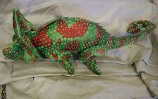 Ganz Iguana Bright Green orange Soft 28in Plush