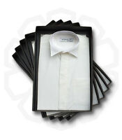 Boys Ivory Cream Wing Collar Formal Shirt Cotton Page Boy Suit Age 1 To 16 Yrs