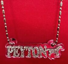 Personalized Name Plate Custom Name Necklace Nameplate Name Laser Cut - Gorgeous