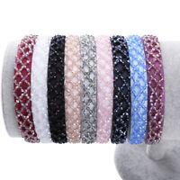 Shiny Rhinestone HairBand Hair Hoop Hair Accessories for Women Crystal Headband