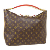 LOUIS VUITTON SULLY PM HAND TOTE BAG CA1102 PURSE MONOGRAM CANVAS M40586 39624