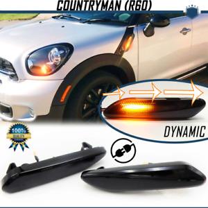 Frecce LED Laterali Dinamiche Sequenziali per Mini COUNTRYMAN R60 CANBUS Omolog