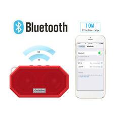 Rechargeable Wireless Bluetooth Speaker Portable Mini Super Bass Red Speaker WF
