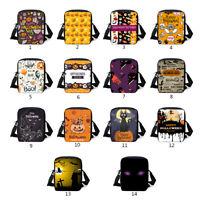 Halloween Shoulder Bag Crossbody Messenger Schoolbag Pumpkin Handbag Women Gift
