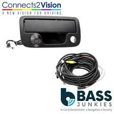 VW Amarok 2010 On Replacement Tailgate Handle & Rear Reverse Car Camera CAM-VW6