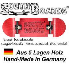 Komplett Holz Fingerskateboard RT/SWZ/WS SOUTHBOARDS® Handmade Wood Fingerboard