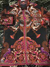 Versace Silk Shirt Men's Size 16.5