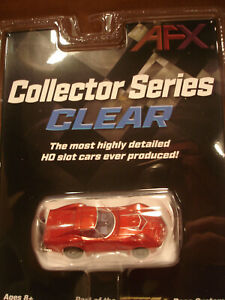 TOMY AFX H.O. SCALE SLOT CAR 1970 CHEVROLET CORVETTE LT1 RED MET. NEW IN PACKAGE