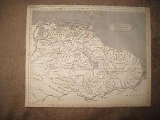 Rare Antique 1812 Government Of Caracas Venezuela South America Arrowsmith Map