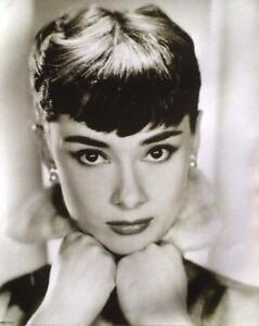 Audrey Hepburn Black & White Poster 16 X 20