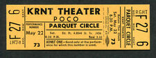 Original 1971 Poco Unused Full Concert Ticket Des Moines Ia From The Inside