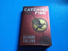 Suzanne Collins Catching Fire HC/DJ stated 1st edition
