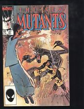 New Mutants (1983) #27 1st Print Early Legion App FX Marvel Mutant TV Series NM-