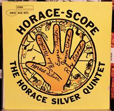 HORACE SILVER HORACE-SCOPE BLUE NOTE 84042 WEST 63RD STEREO LP CLEAN!