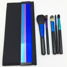 New MAC 5PCS Look in a Box Advanced Brush Set New Bag Unboxed - Travel Size