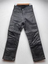 Vintage Beck 1950s Northeaster Flying Togs Pants HorseHide Leather motorcycle 28