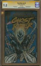 Ghost Rider Sketch Cover By Bill Dinh CGC 9.8 Graded
