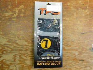 Louisville Slugger TPS Series Leather Batting Glove Right Hand Large Adult NOS