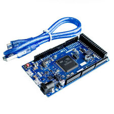New DUE R3 SAM3X8E 32-bit ARM Cortex-M3 Control Board Module Arduino With Cable