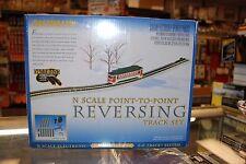 N Bachmann item 44847 * Point to Point Reversing Track Set * NIB