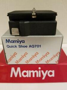 Mamiya AQ701 QUICK SHOE RELEASE ADAPTER (fits all Toyo VX 125, VX23D bodies) 1/4