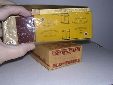 CENTRAL VALLEY #F-92  C.N.J.Old Time 36' Truss-Rod Reefer #175  Kit H.O. 1/87