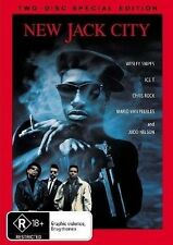 DVD NEW JACK CITY 2 DISC SET  LIKE NEW CONDITION FREE FAST POSTAGE