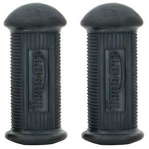 British Standard Foot Peg Rubbers for Triumph Motorcycles 1938-1967 OEM # NF704