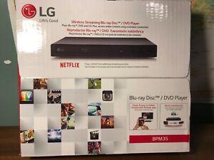 LG BPM35 Blu-ray Player