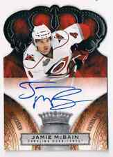 2010-11 CROWN ROYALE AUTO JAMIE MCBAIN ROOKIE AUTO 155/499 CAROLINA HURRICANES
