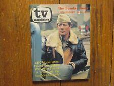 1977 Detroit News TV Mag(PETER STRAUSS/BARBARA PARKINS/ROD TAYLOR/JOSEPH KENNEDY