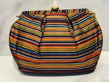 Coblentz Original 1950's Satin Striped Clutch Bag