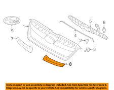 SUBARU OEM 12-14 Impreza Grille Grill-Molding Trim or Surround Left 91123FJ010