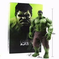 "16"" Hot Avengers Incredible Hulk Iron Man Age Of Ultron Hulk buster 42CM PVC Toy"
