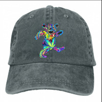Men Grateful Dead Dancing Bear Adjustable cowboys Baseball Snapback Caps Hat