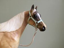 Traditional Scale Mint Green Model Horse Halter For Breyer