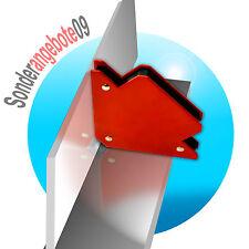 4 Stück Magnethalter Magnet Winkel Schweißwinkel Magnet MAG Schweißer 12x8,2 cm