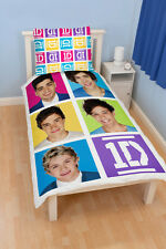 One Direction Neon Single Bettwäsche 140x200 Bett Wäsche Einzelbett 1D neu