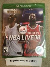 NBA Live 18 (Microsoft Xbox One, 2017) *BRAND NEW*