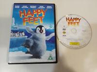 HAPPY FEET DVD ELIJAH WOOD HUGH JACKMAN NICOLE KIDMAN ROBIN WILLIAMS ENGLISH