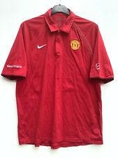 Manchester United Polo Shirt - T90 Nike - Red - Football - Size XL