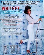 WHITNEY HOUSTON 2000 PROMO ADVERT THE GREATEST HITS arista