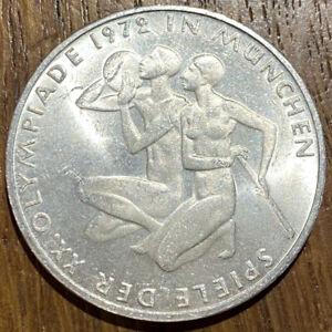 PIECE DE 10 DEUTSCHE MARK 1972 F EN ARGENT (793)