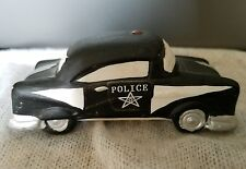 vintage porcelain police car made in Philippines 911 police officer vehicle star