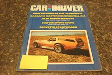 CAR AND DRIVER FIRST PICTURES OF THE '73 CORVETTE JULY 1972 VOL.18 #1 9248-1