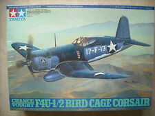 TAMIYA 1/48 CHANCE VOUGHT F4U-1/2 BIRD CAGE CORSAIR