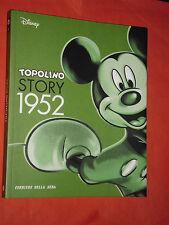 WALT DISNEY-TOPOLINO STORY 1952 N°4 - VOLUME A FUMETTI DI QUASI 200 PAGINE